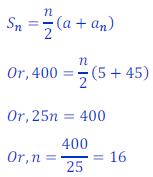 arithmetic progression class ten 2Exercise 5.3