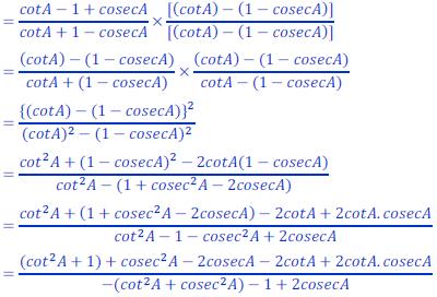 class ten math trigonometry ncert solution31 of Exercise 8.4