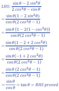 class ten math trigonometry ncert solution34 of Exercise 8.4