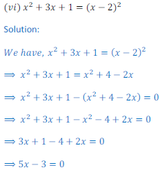 Quadratic Equation 8